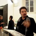 Dipingendo nella Galleria  Milano 2014
