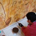 Corso di Affresco. Centro Culturale dell'Albayzin (Granada) 11/2003
