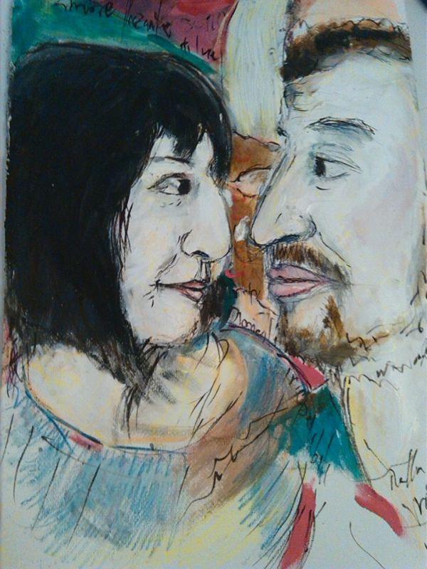 La coppia(Fabio e Ida)