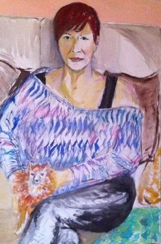 Nadia Battaglia. 120x80 cm. 2014